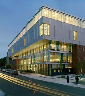 Amazing Jeremiah E. Burke High School, Boston, MA; Designed By Schwartz/Silver  Architects