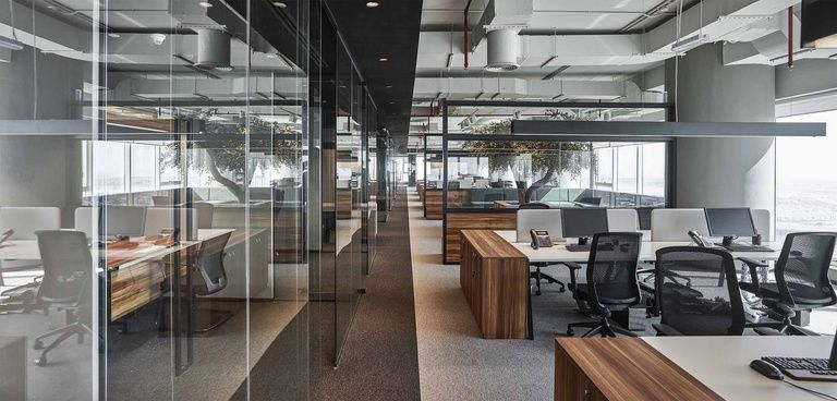 Emirates national investment office by swiss bureau interior design