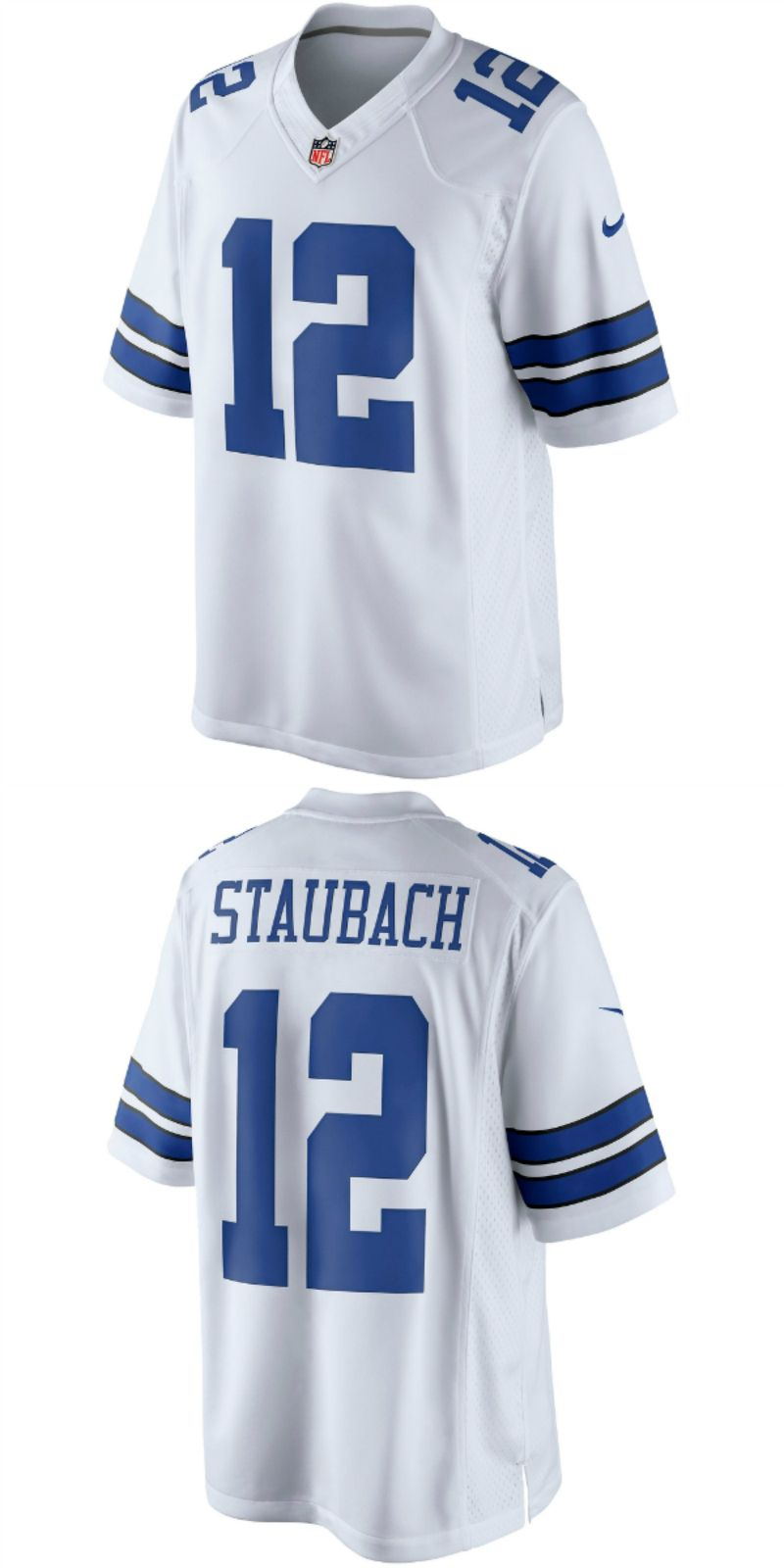 best sneakers 16c7b d1a30 UP TO 70% OFF. Roger Staubach Dallas Cowboys Nike Retired ...
