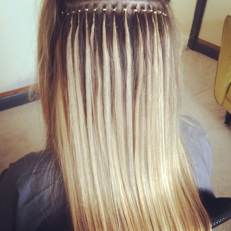 Nano ring hair extensions Beauty Pinterest Hair