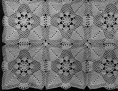 Pine cone bedspread pattern originally published in new book of pine cone bedspread pattern originally published in new book of bedspreads spool cotton co crochet afghanscrochet bedspreadfree dt1010fo