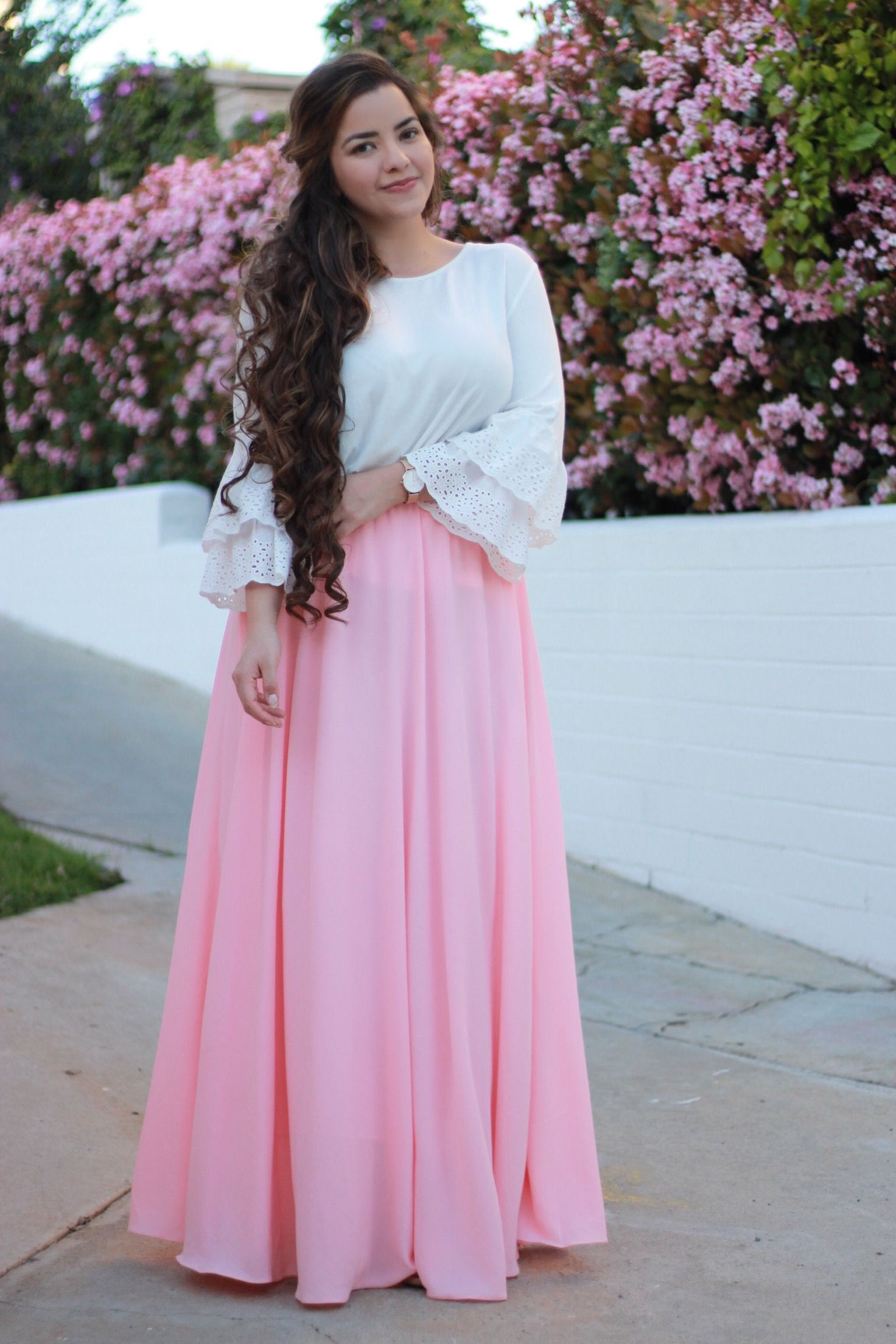 Are you a fan of maxi skirts? Our Nora skirts are amazing! Available ...