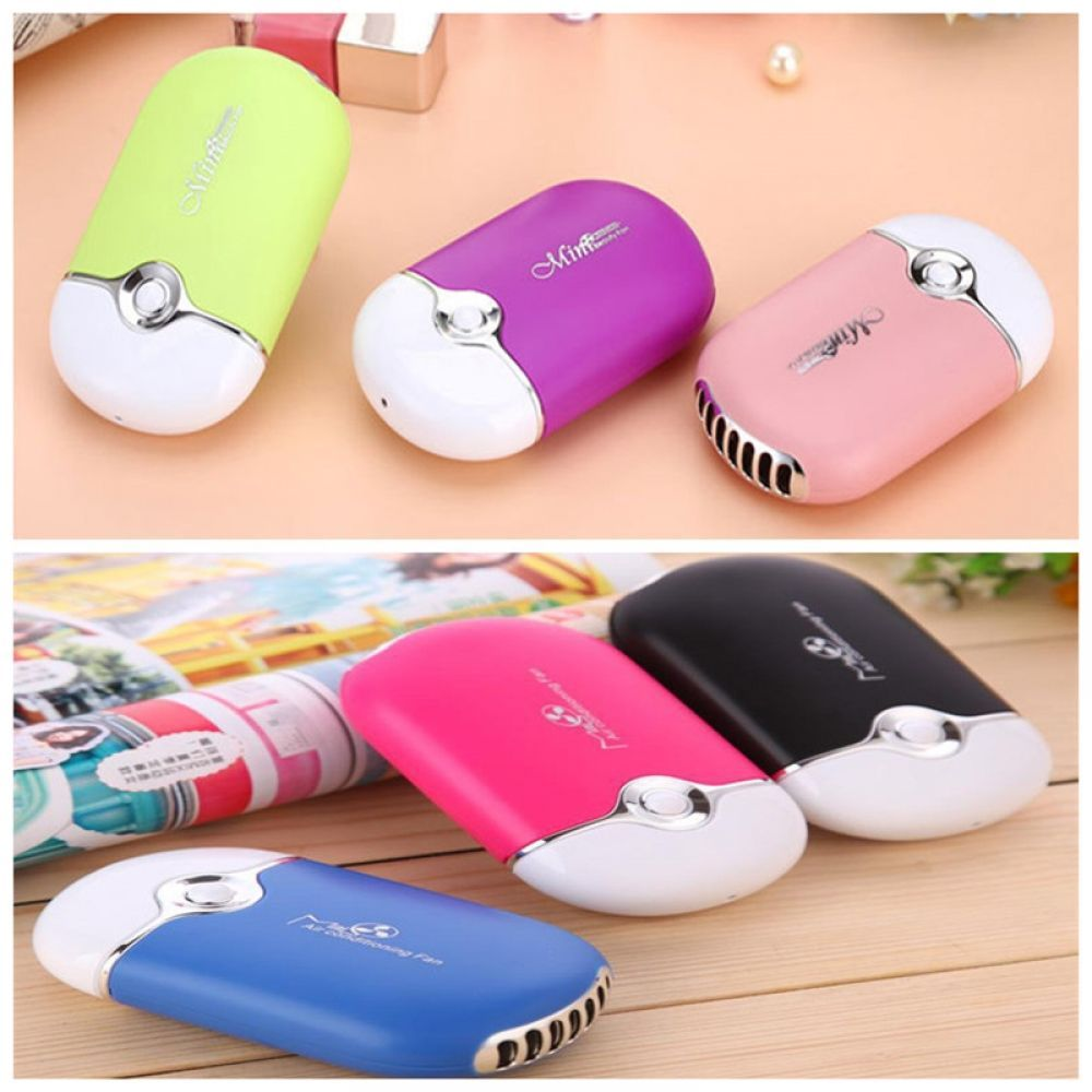 Mini portable hand air conditioner cooling fan in 2020