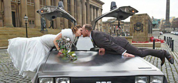 Get me to the church on time.Inspirational wedding transport ideas including DeLoreans, tuk-tuks, helicopters and more...