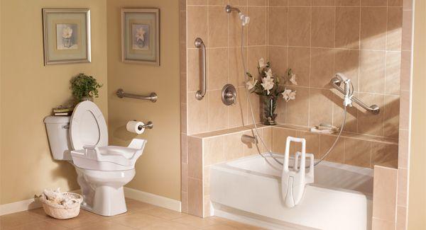 Bath Tub & Shower Safety Grab Bar Installation Services in ...