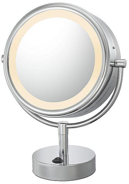 Kimball Young 725 Series Led Lighted Makeup Mirror Seattleluxe Com Led Makeup Mirror Makeup Mirror With Lights Makeup Mirror
