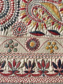 Benghal Kantha textile