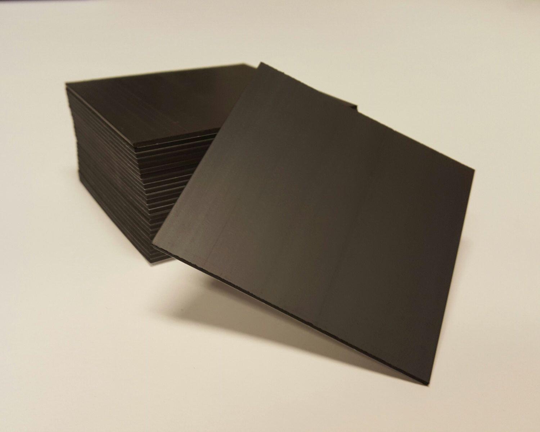 500 Pk 3 5 Quot X3 5 Quot Inch Self Adhesive Magnet Backing Adhesive Magnet Diy Magnets Magnets