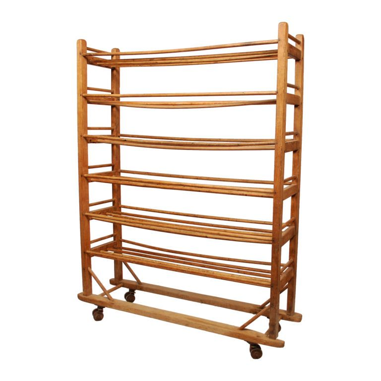 1stdibs Rolling Bread Rack From A Bakery Circa 1900 Vintage