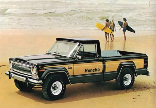 1976 Jeep J10 Honcho Ad Trucks Jeep Truck Jeep Wagoneer