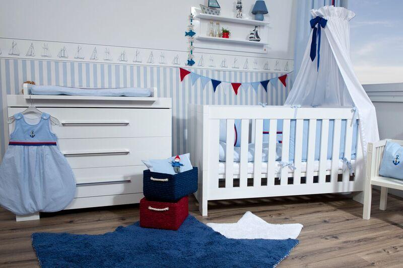 Leinen Los Maritimer Look Baby Und Kinderzimmer Anker