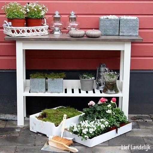 Sidetable Voor Buiten.Sidetable Buiten Garden Garden Tuin En Not Found