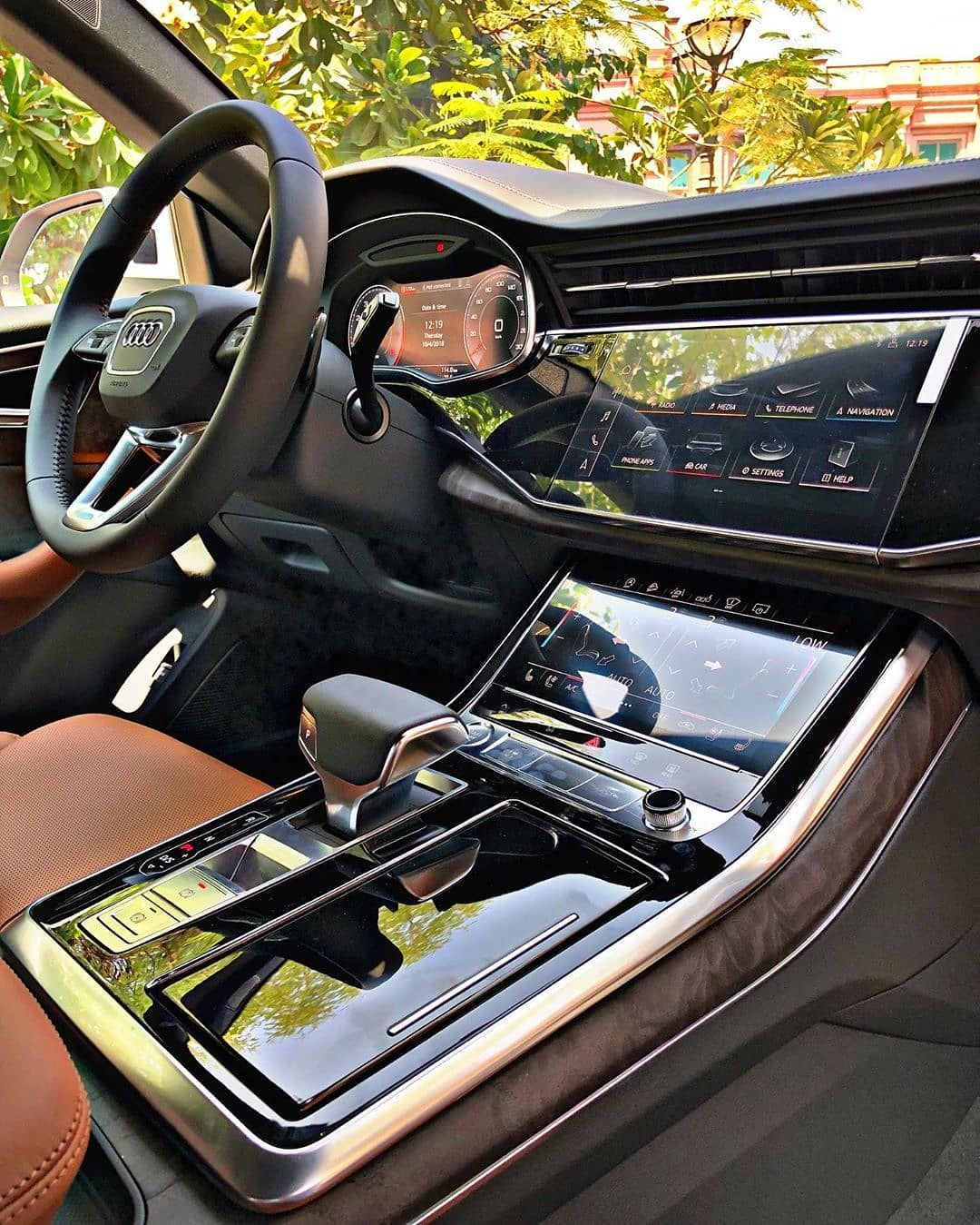 The All New Audi Q8 Follow Uber Luxury For More Courtesy Of Zaidzilla Carhoots In 2020 Audi Interior Best Luxury Cars Dream Cars