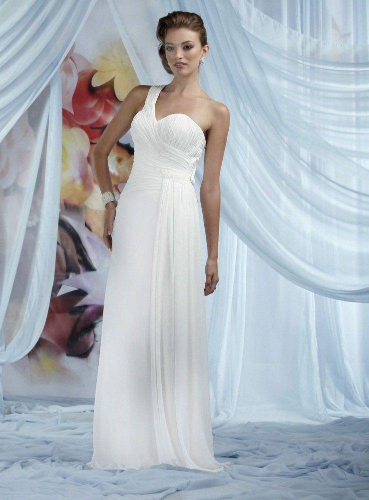 one shoulder wedding dress australia
