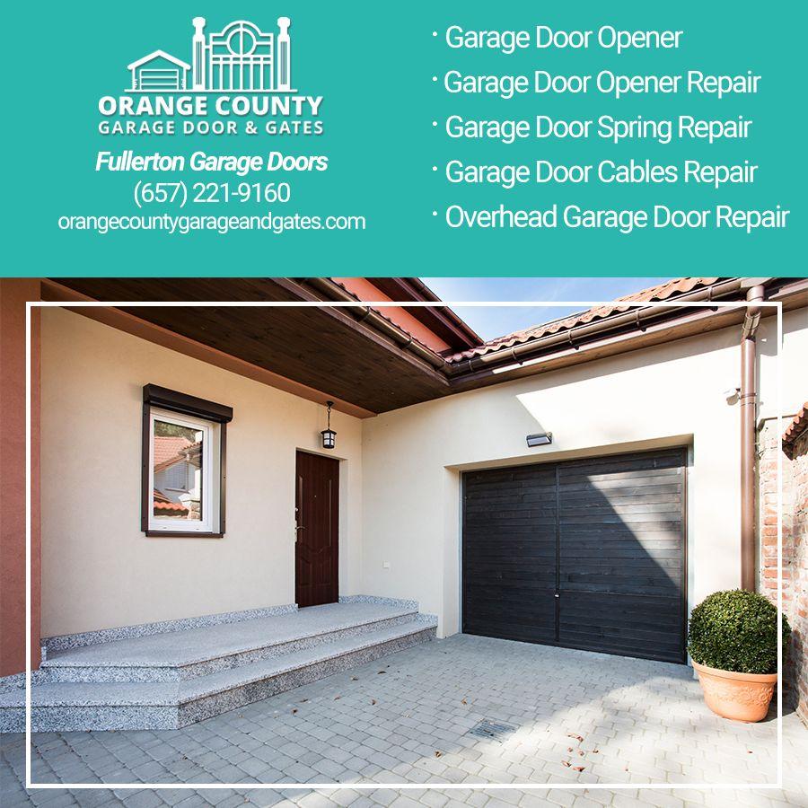 One Of Our Specialties At Orange County Garage Door Is Overhead Garage Door Repair In Orange County Ca We Provide Rep Garage Doors Garage Door Repair Garage