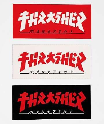 Thrasher Godzilla Logo Sticker