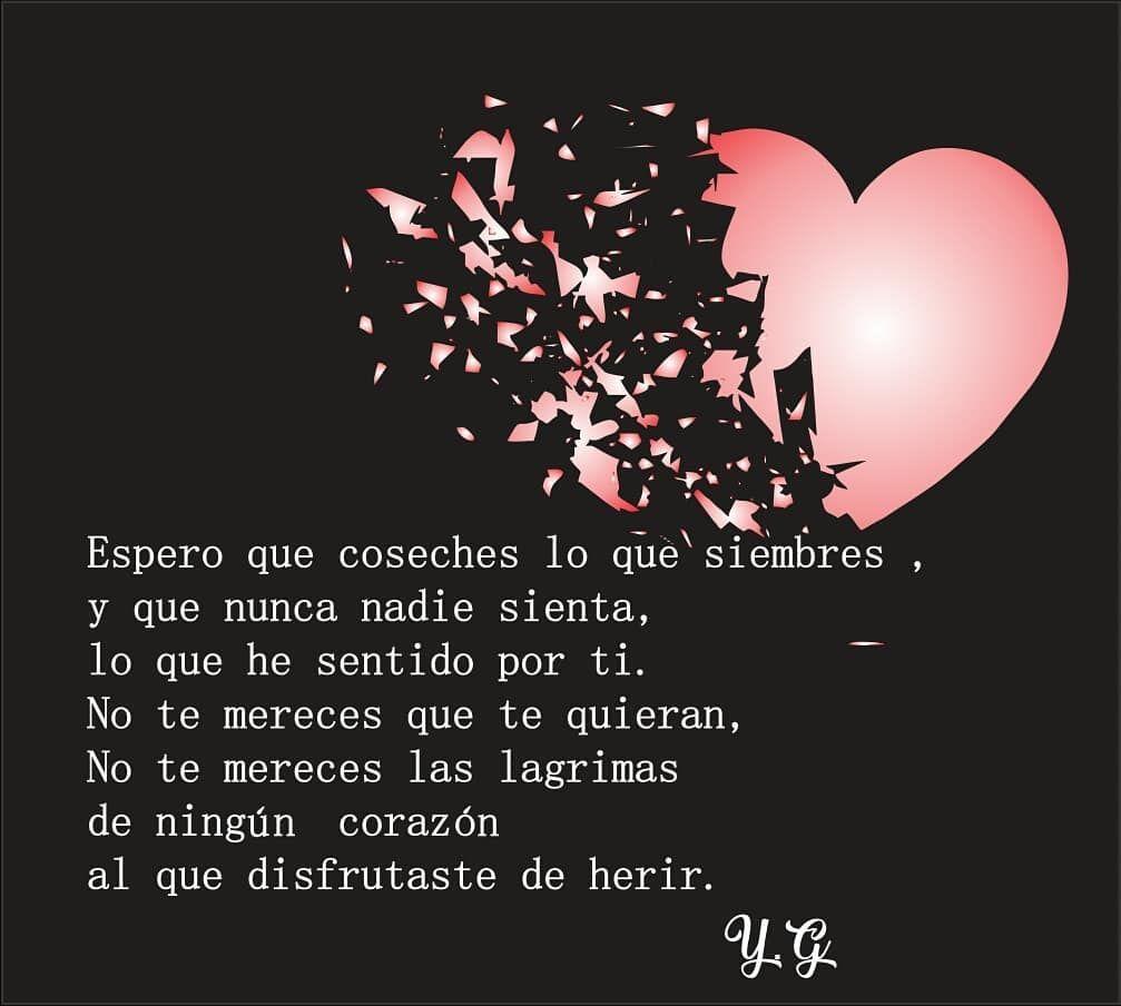 Frases Desamor Love Vida Corazonroto Corazon Vivir Amar