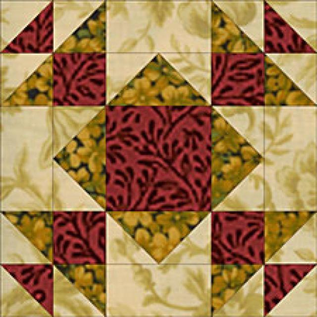 """24"""" x 24"""" Summer Winds Quilt Block Pattern: Meet the Summer Winds Quilt Block"""