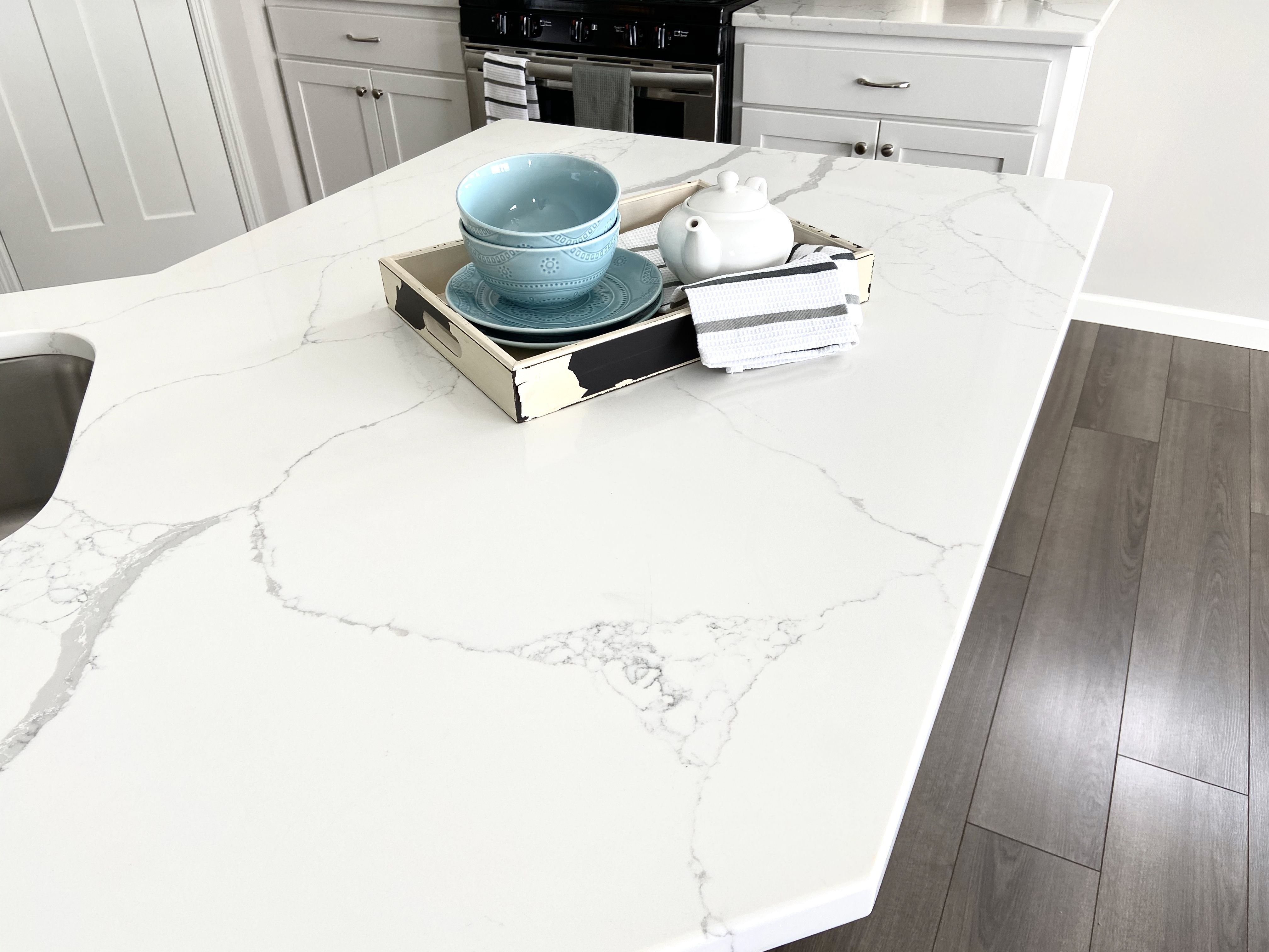 We Love To Use Quartz Countertops In