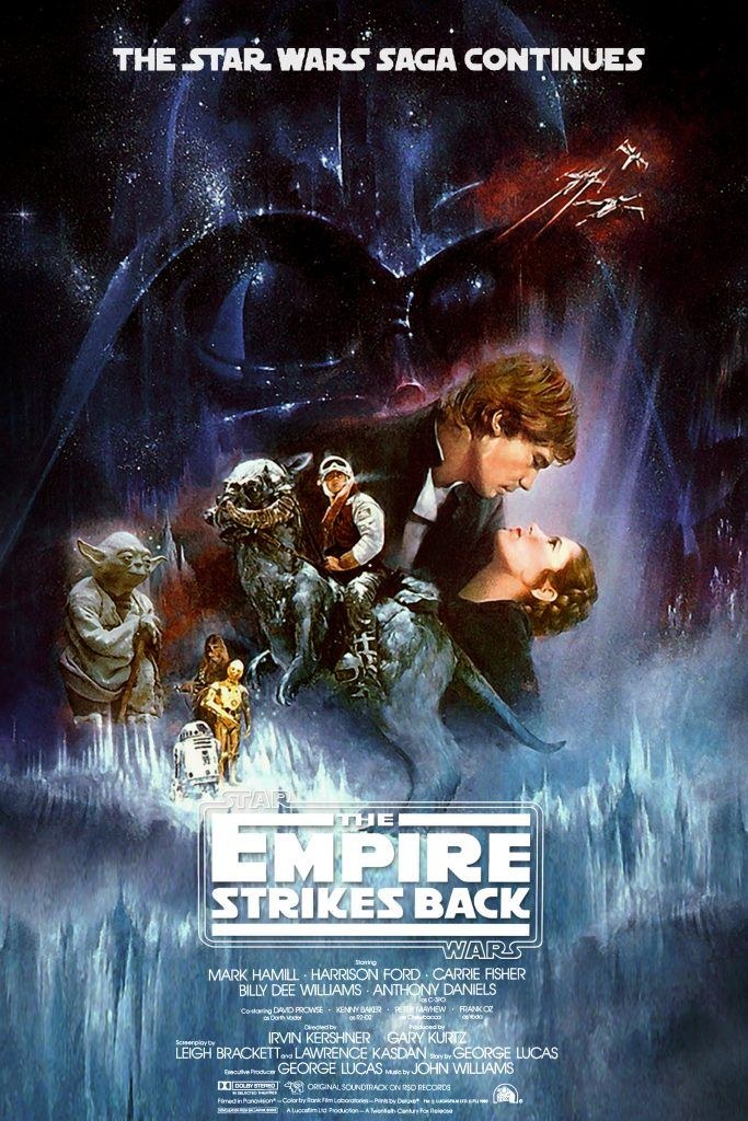 Star Wars The Empire Strikes Back Eipsode 5 1980 Hd Printable Poster Wallpaper Official Poster Star Wars Poster Empire Strike Star Wars Movies Posters