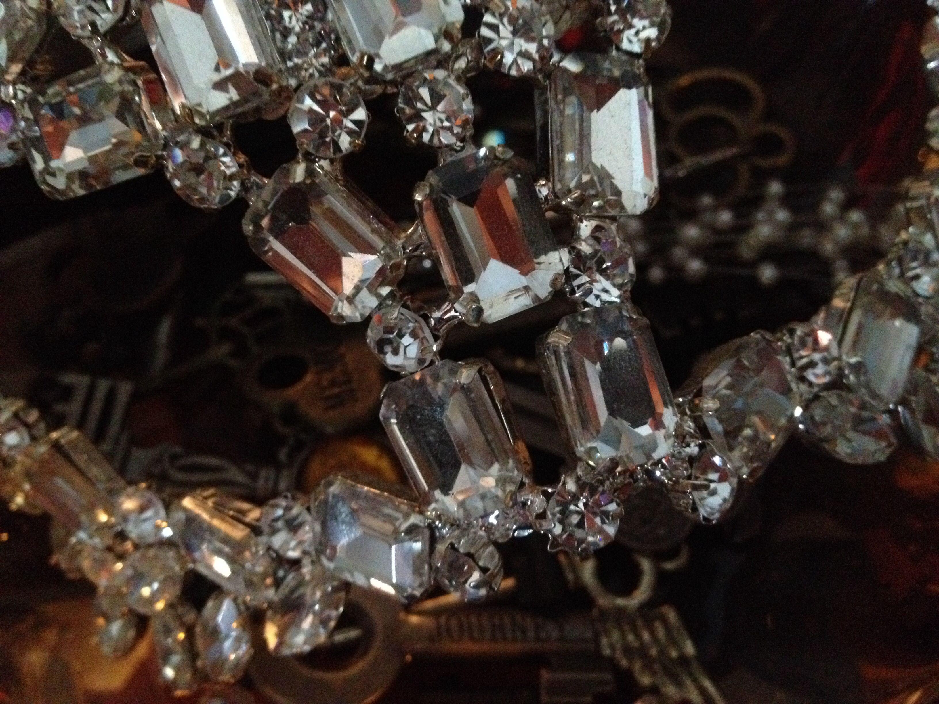 My Mask of Diamonds resting upon my Chalice of Keys