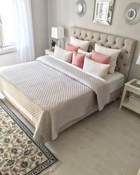 Habitaciones mujer cuarto peque o en 2019 habitaci n - Como decorar habitaciones ...
