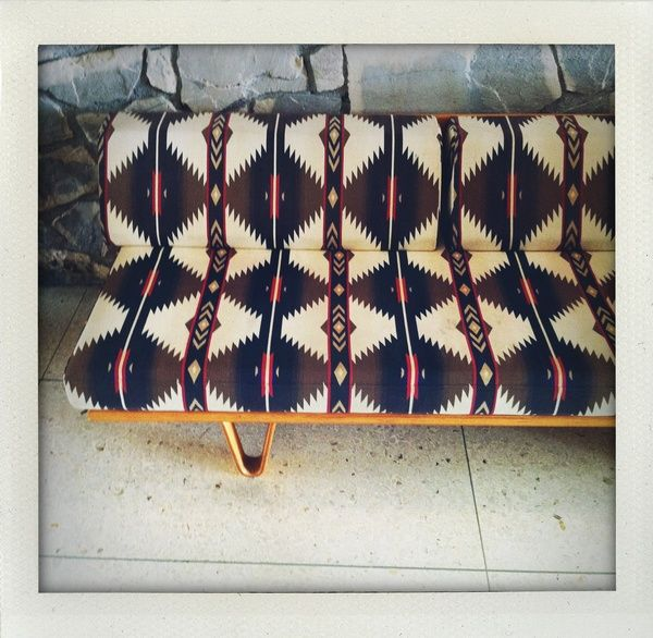 Sofa With Native American Print Wild Native America
