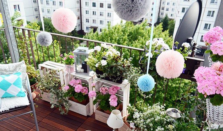 Mit diesen Tipps wird Ihr kleiner Balkon zur Wohlfühloase
