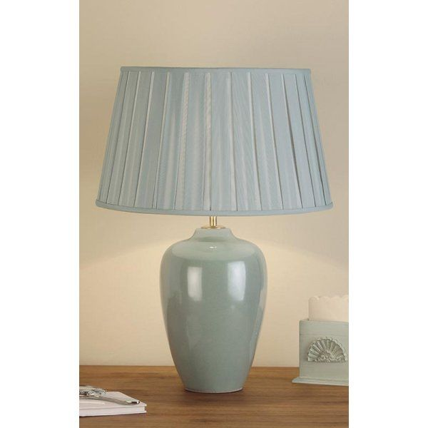 Lamp and shade in duck egg blue duck egg blue dream pinterest lamp and shade in duck egg blue aloadofball Images