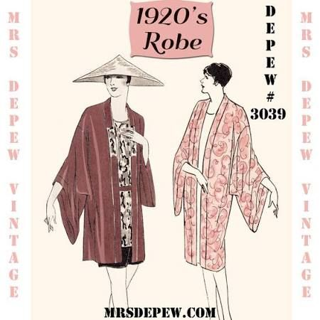 kimono pattern - Google Search | Vintage Sewing Patterns | Pinterest