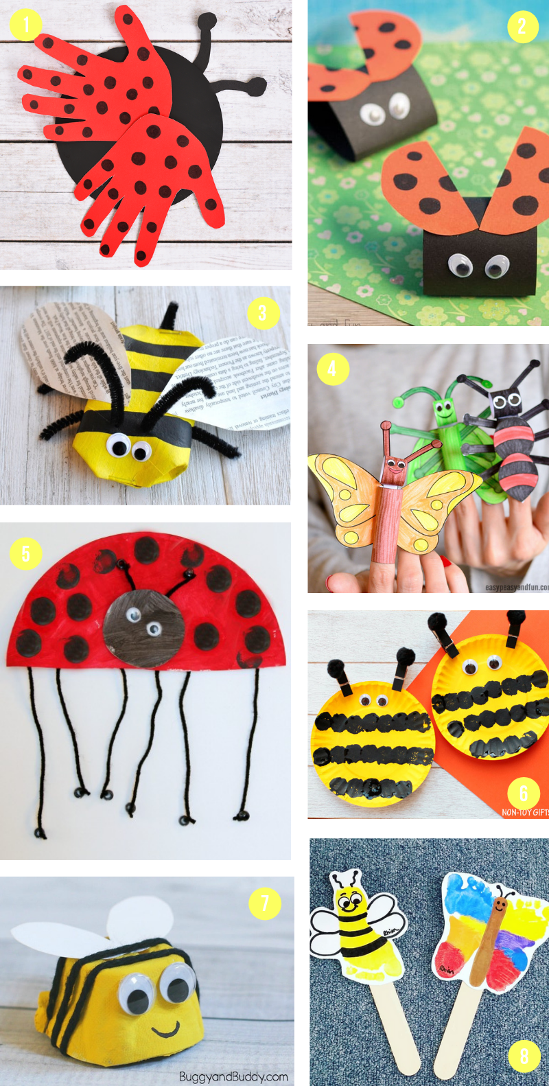 The Epic Collection Of Spring Crafts For Kids - All The Best Art Projects & Activities To Celebrate The Season -   16 diy projects For Mom kids ideas