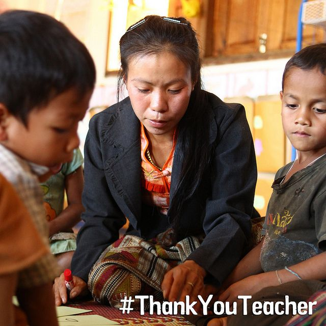 Today is World Teachers' Day. Who was your favourite teacher at school and why? Did they inspire you? Did they offer you a piece of great advice? Were they always there when you needed them? #ThankYouTeacher #teachersdat
