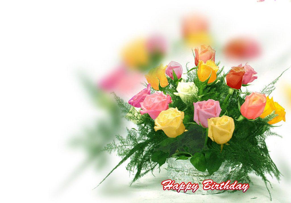 happy birthday flowers hd | Flowers | Pinterest | Happy ...