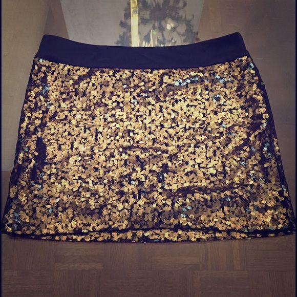 Cynthia Steffe Skirt Sequin Skirt Skirts