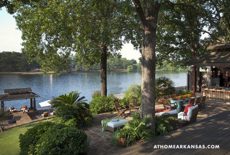 lakeside patio ideas photos | Designed in multi-level ... on Lakefront Patio Ideas id=30892