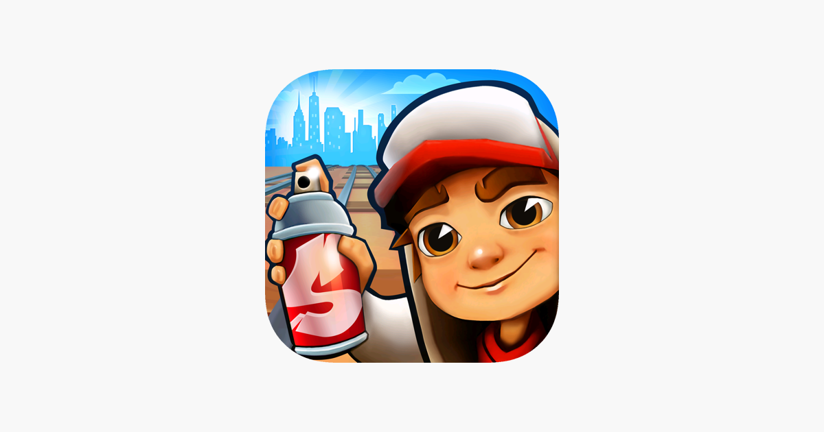 Presented By Kiloo Games And Sybo Games Dash As Fast As You Can Dodge The Oncoming Trains Help J Subway Surfers Subway Surfers Game Subway Surfers Download