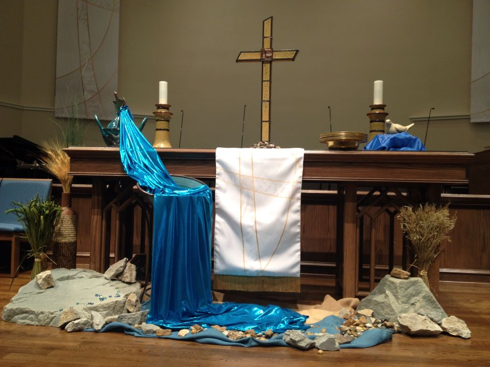 Baptism of Our Lord Sunday. St. Mark's UMC