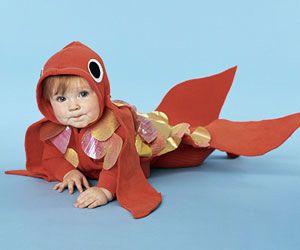 Costumi di Carnevale fai da te per bambini    pesciolino   FOTO