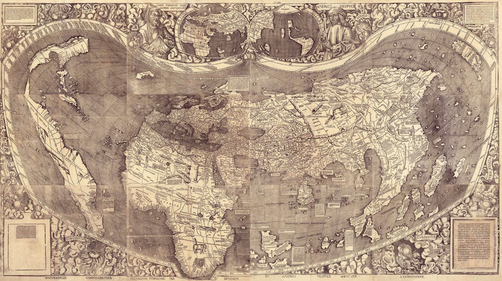 500 Year Old Map Of America.This 500 Year Old Map Was The First To Mention America Useful