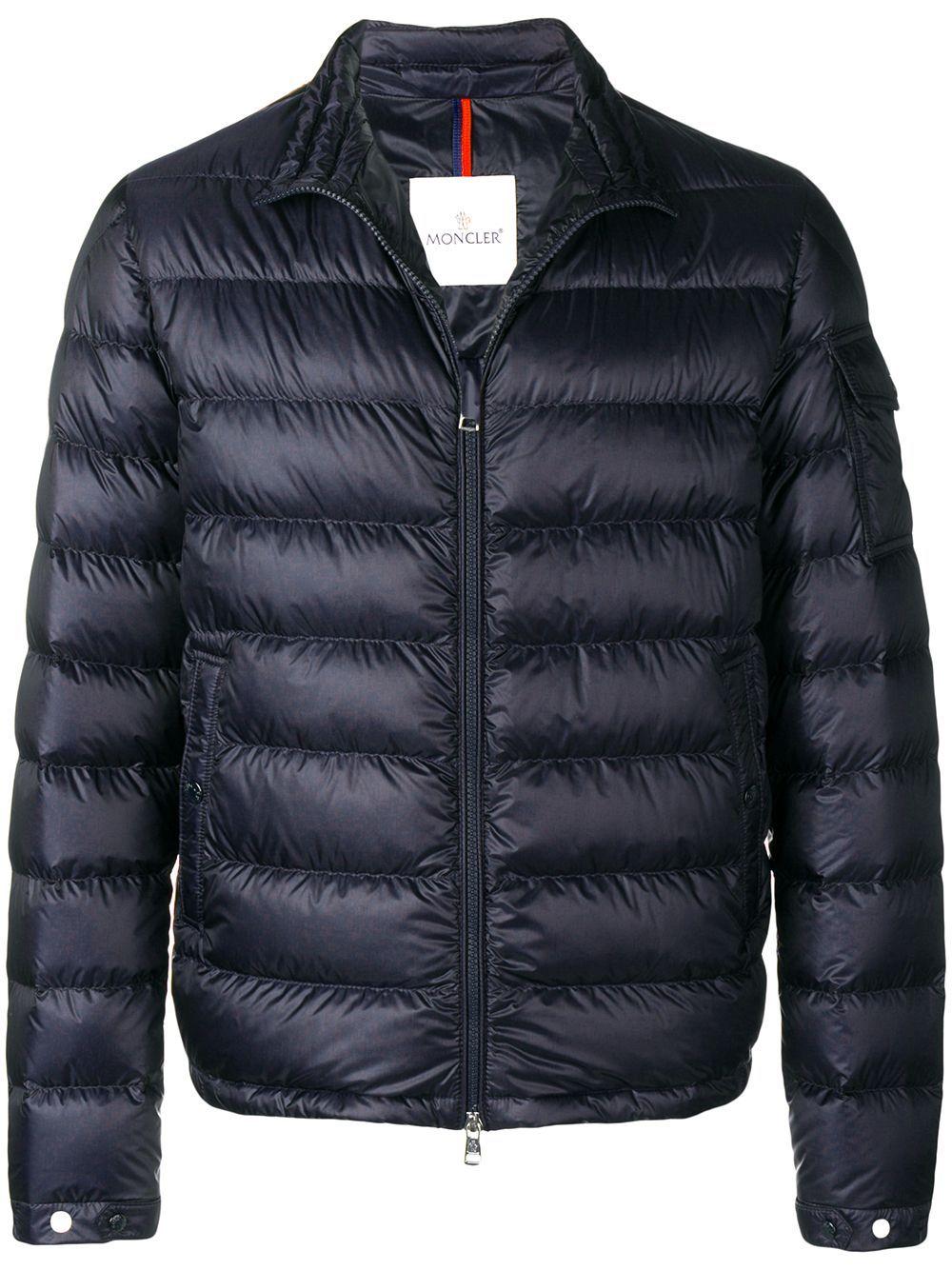 Moncler Moncler Lambot Jacket Blue Moncler Cloth [ 1334 x 1000 Pixel ]