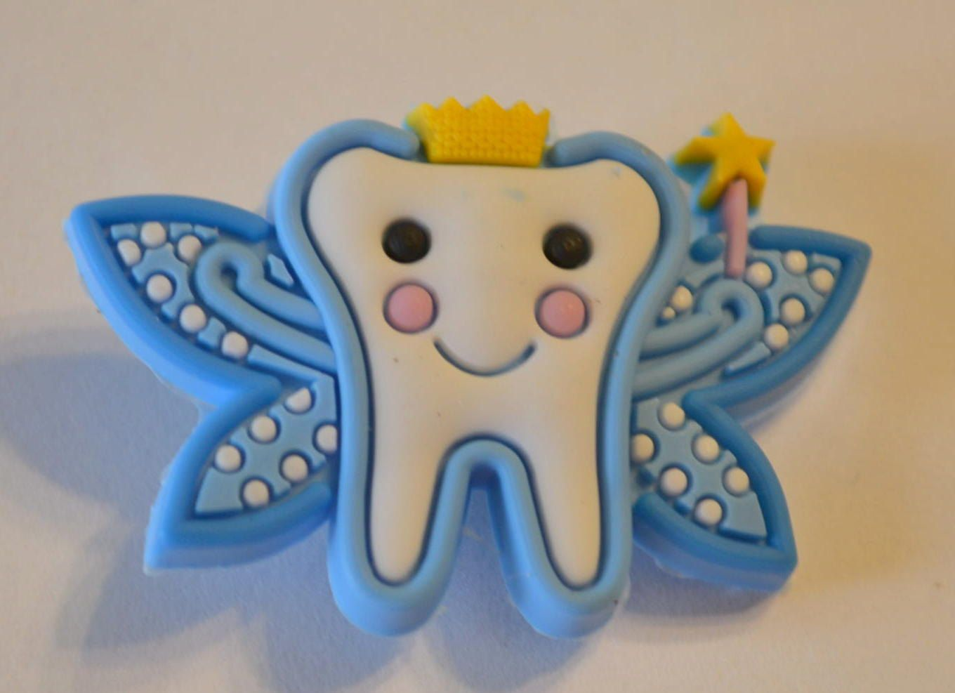 Dentist Blue Tooth Fairy Shoe Charms Decorations Crocs