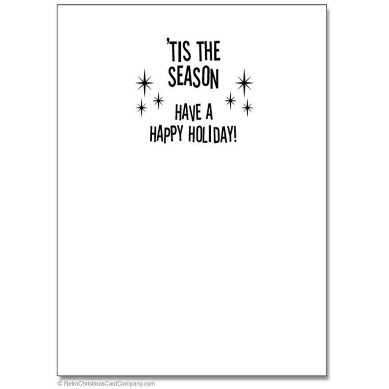 Funny Getting Lit Christmas Cards Package of 8