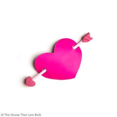 Bricolage DIY amour : Pince à cheveux Coeur