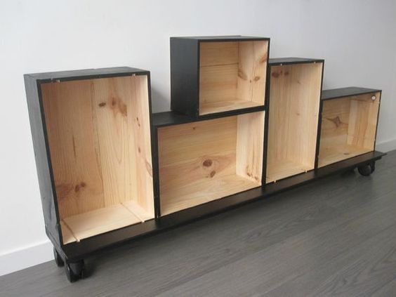transformez vos caisses en bois 1 2 3 p 39 tits pois. Black Bedroom Furniture Sets. Home Design Ideas