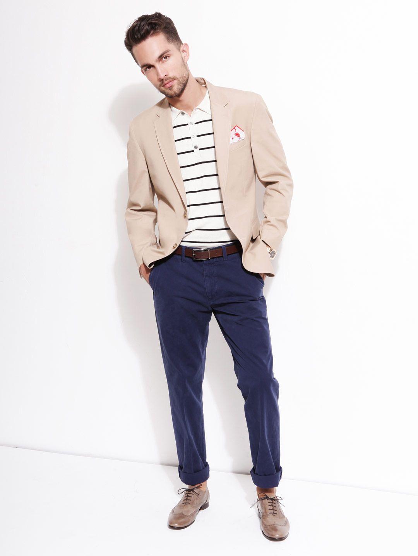 How to white off wear blazer