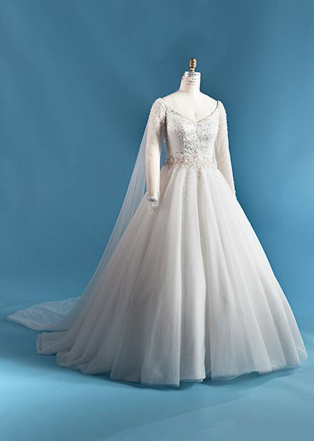 The Elsa wedding gown from the Alfred Angelo Bridal Collection ...