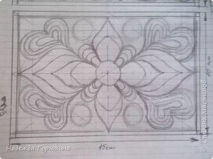 Схемы джутовой филиграни