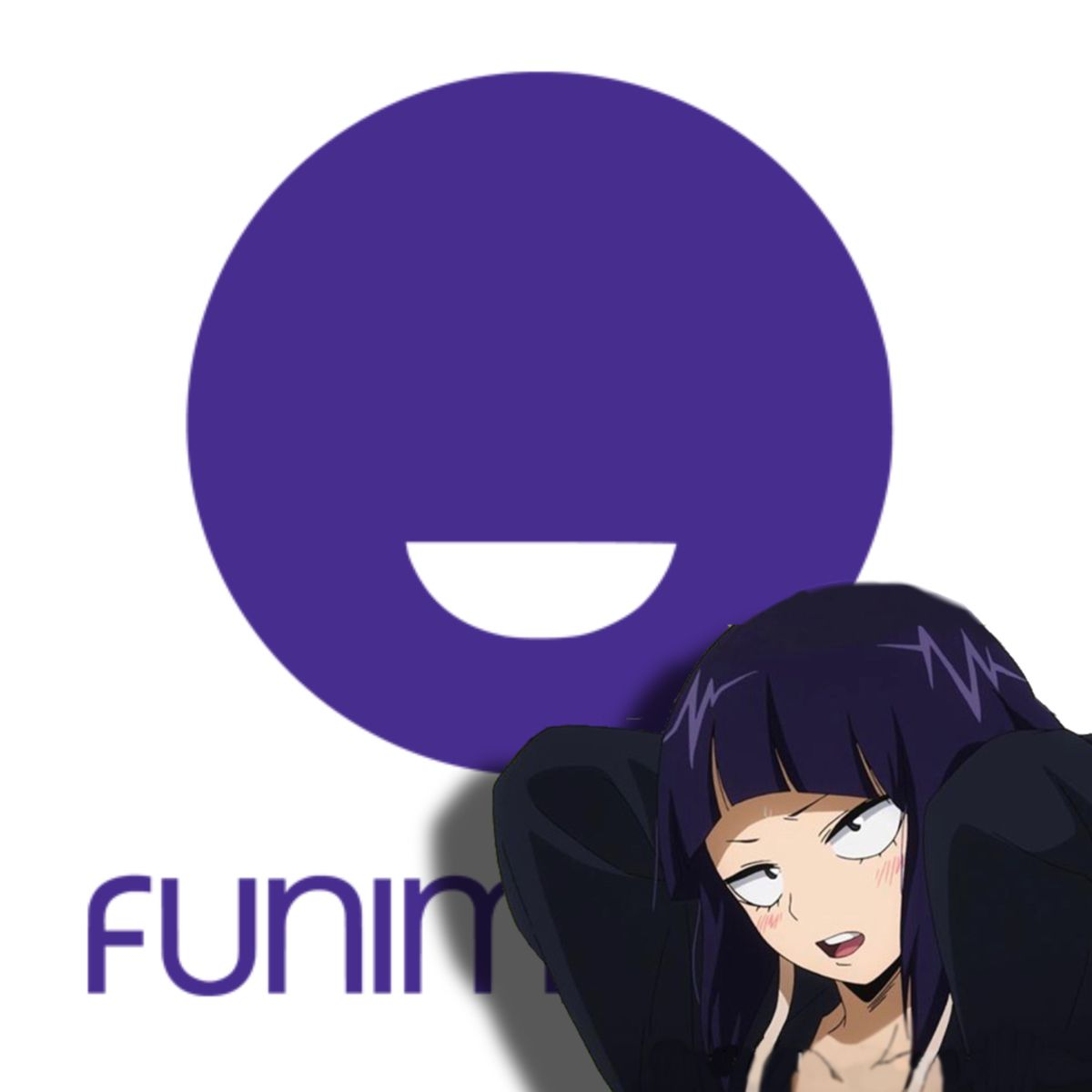 Funimation Icon Kyoka Jirou In 2020 Ios App Icon App Anime App Icon