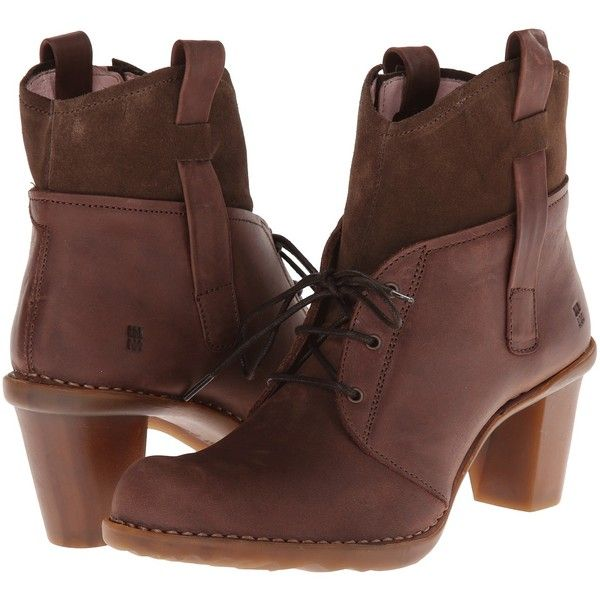 El Naturalista Duna N568 Women's Shoes, Brown (8.130 RUB) ❤ liked on Polyvore featuring shoes, brown, brown lace up shoes, brown platform shoes, platform lace up shoes, adjustable shoes y brown shoes