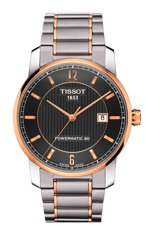 bb3d0262fa57 Catálogo de relojes Tissot para hombre y mujer  Reloj Tissot Luxury ref.  automático T0874075506700